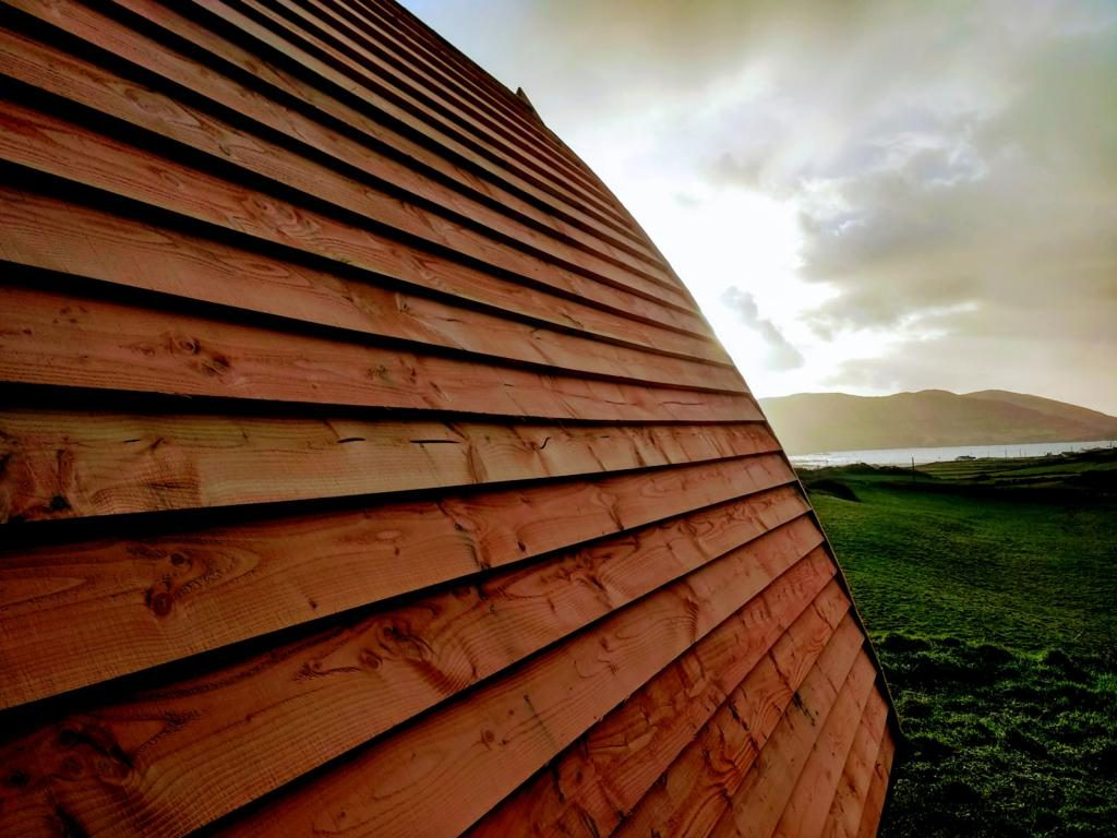 Larch roof - Arkipod