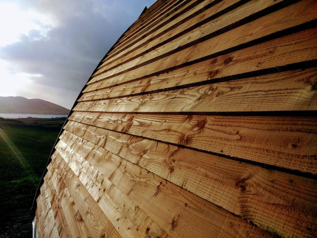 Arkipod Larch roof